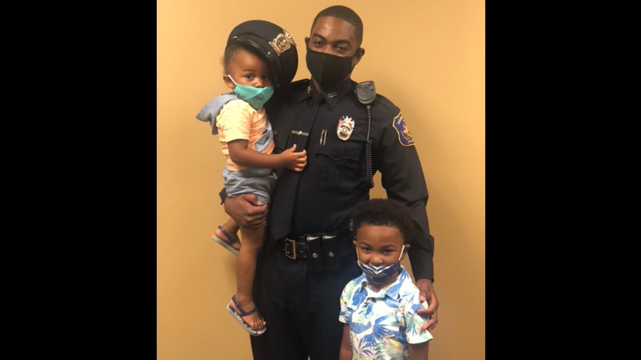 A Holiday Helping Hand for Officer Franklin