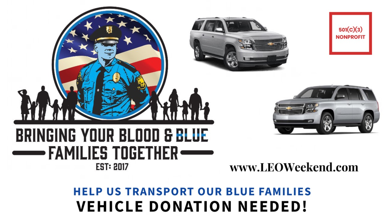 SUV For Injured & Fallen Law Enforcement Families