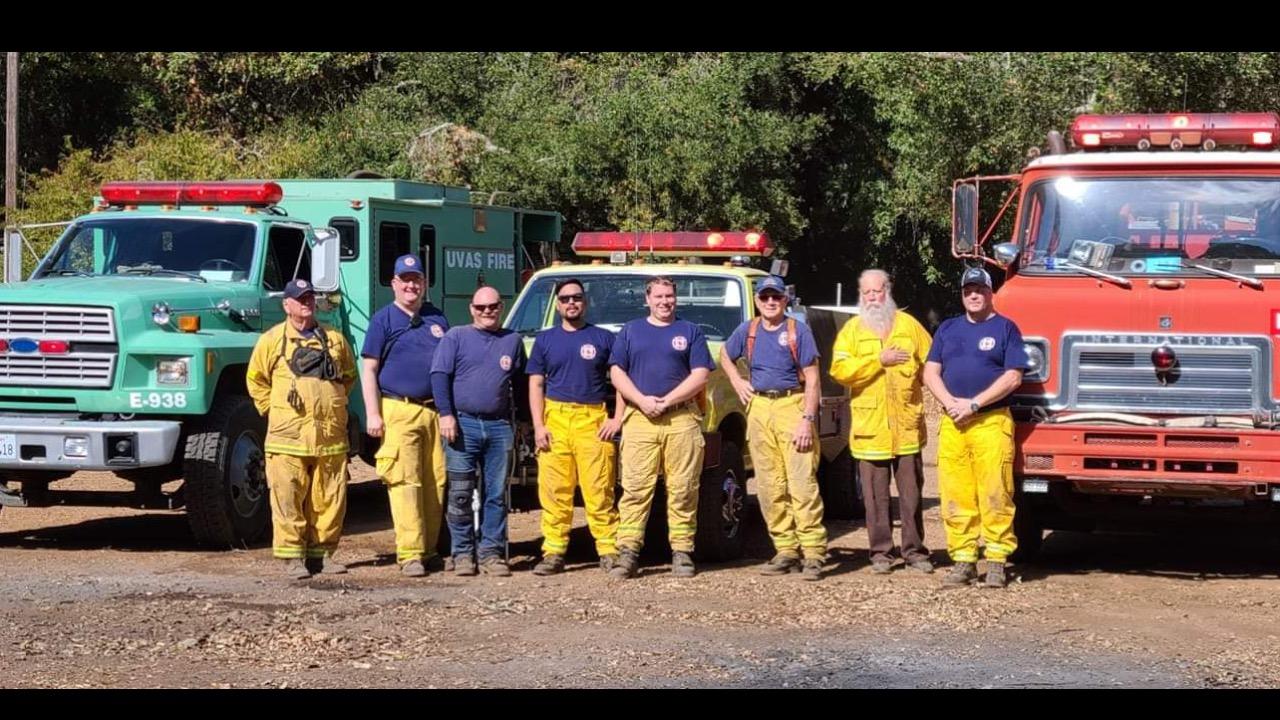 UVAS Fire needs a newer type 3 fire engine