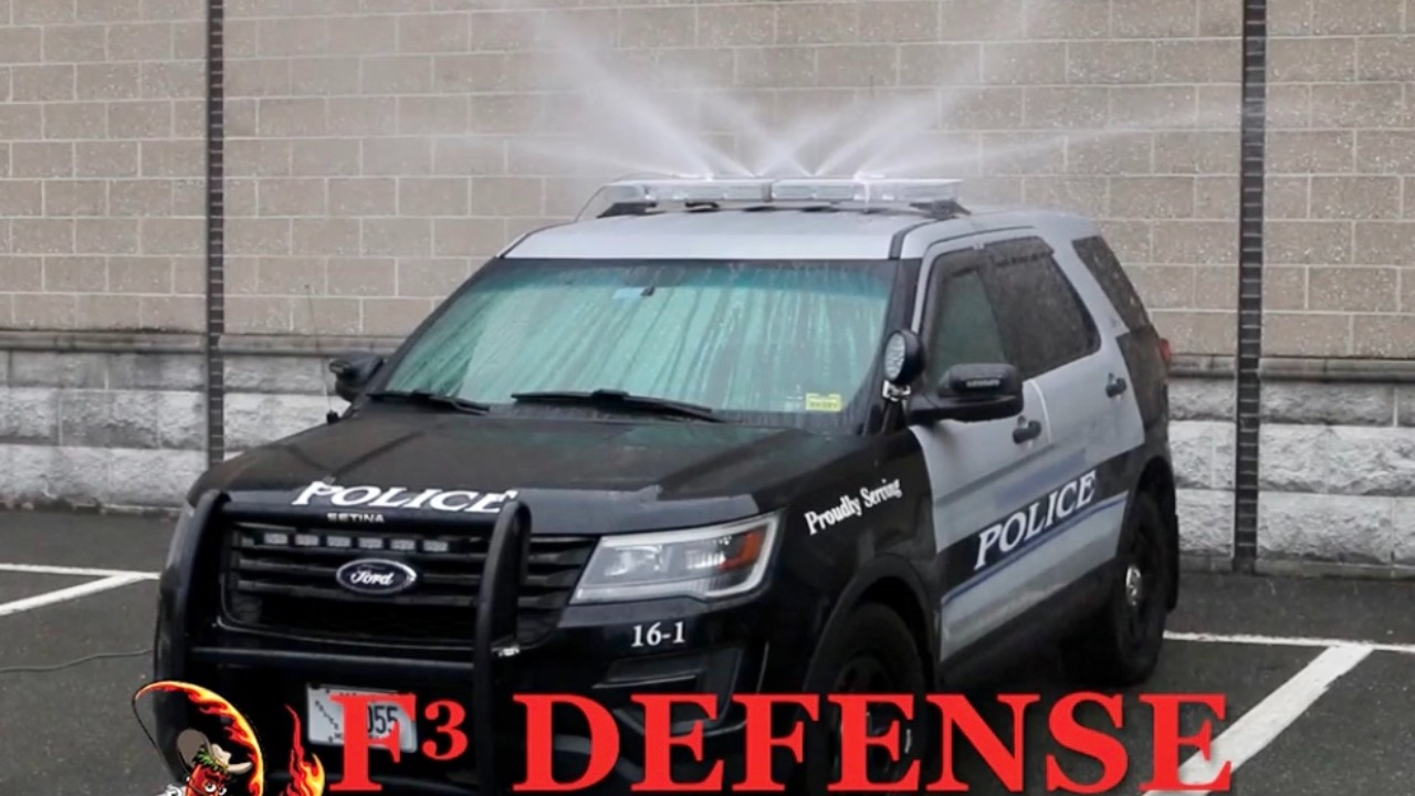 Law Enforcement Mobile Pepper Spray Deployment System
