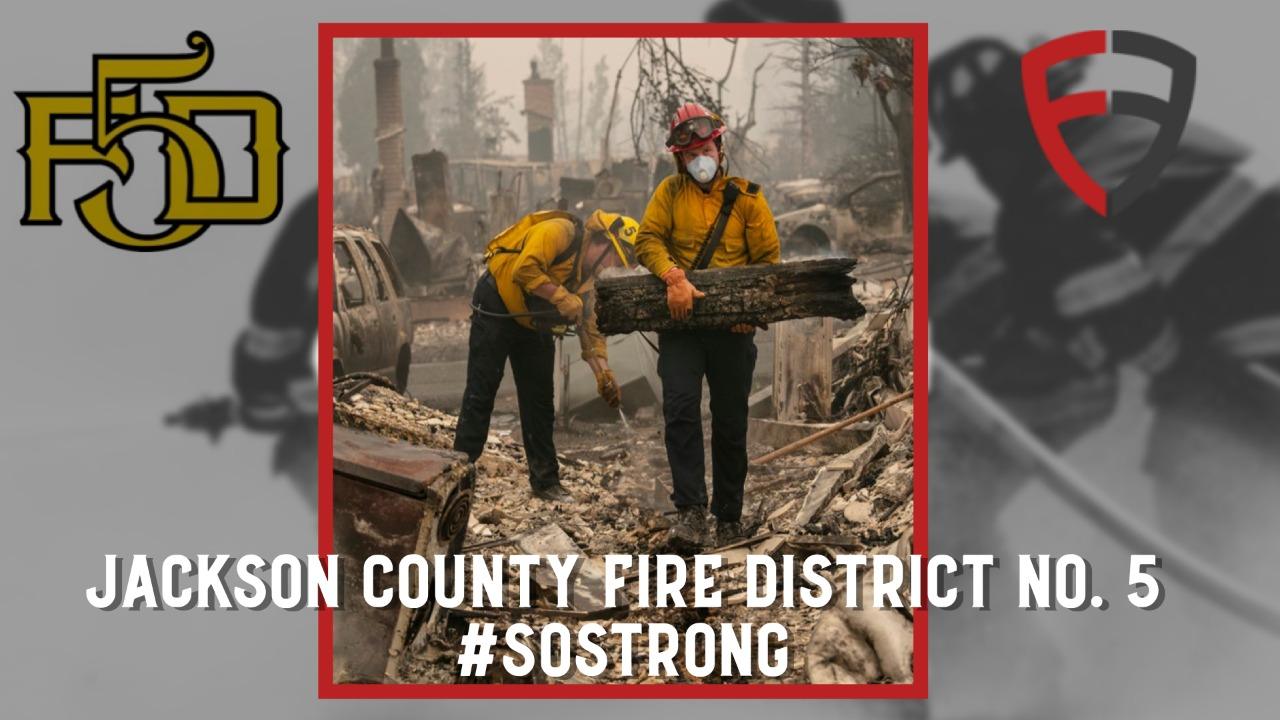 Rebuild Jackson County Fire District No. 5 #SO STRONG