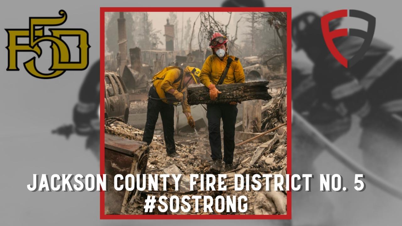 Rebuild Jackson County Fire District No. 5 #SO STRONG