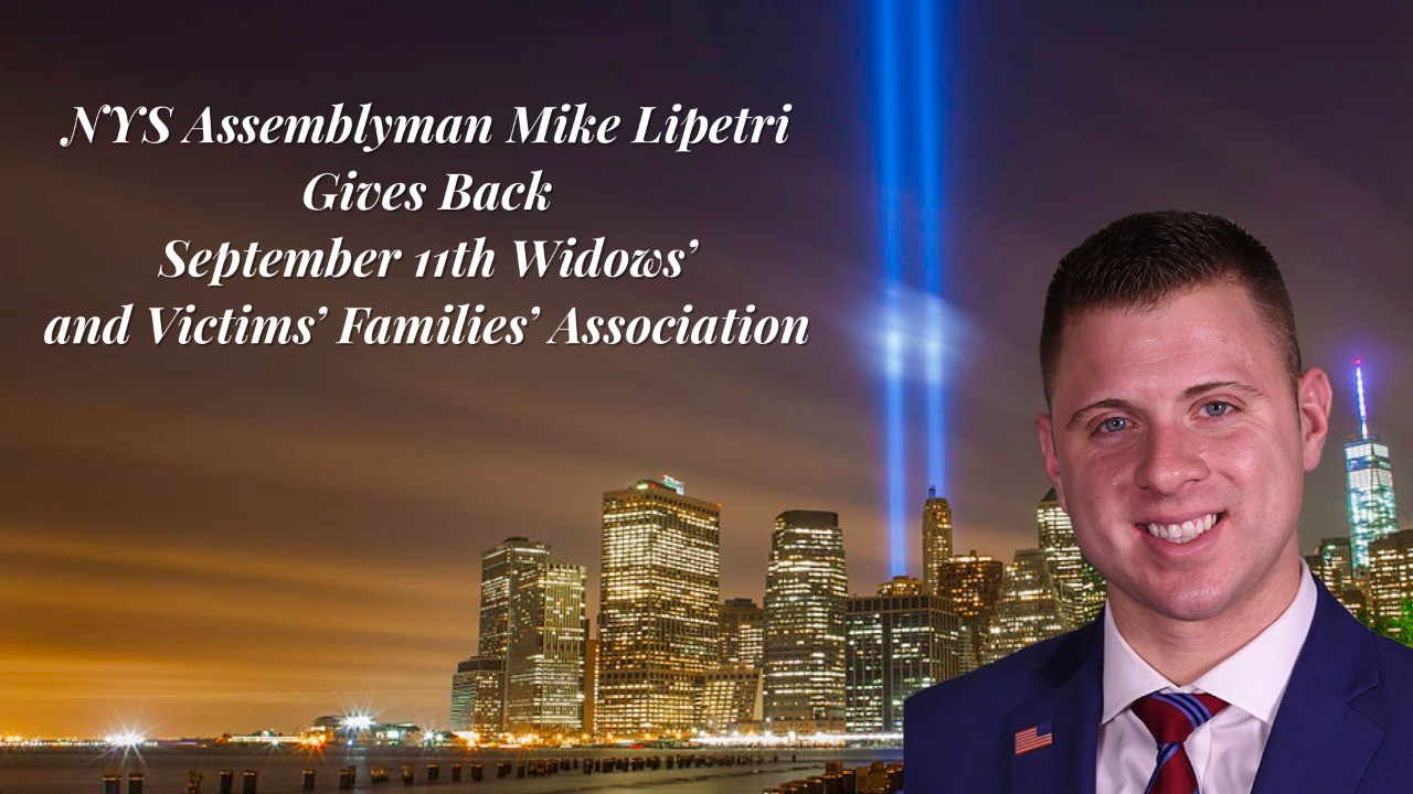Giving Back - 9/11 Families' Association