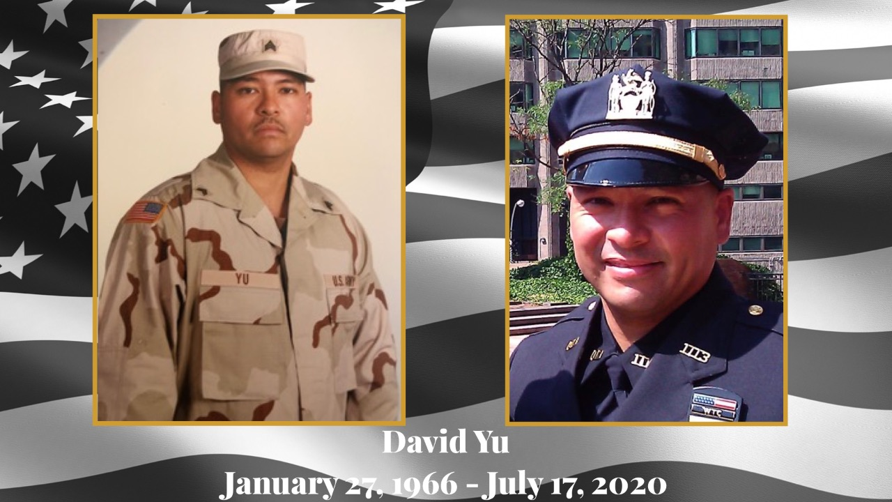 David Yu - 9/11 Related Line of Duty Death #FightForYuLikeHeFoughtForYou