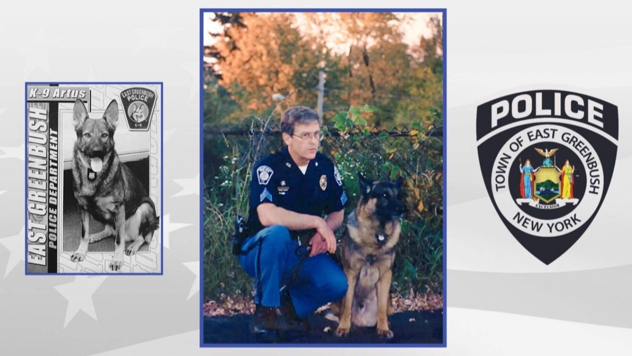 Coins for a K9 (East Greenbush Police Department, New York)