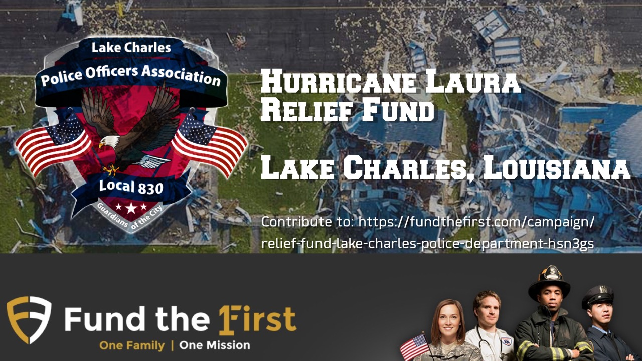 Hurricane Laura Relief Fund - Lake Charles Police Department