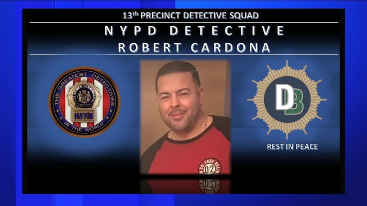 COVID-19 related death - NYPD Detective Robert Cardona